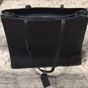 """Coach """"1941 Leather Skinny Tote"""""""